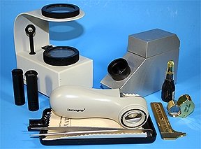 gem identification and testing equipment from